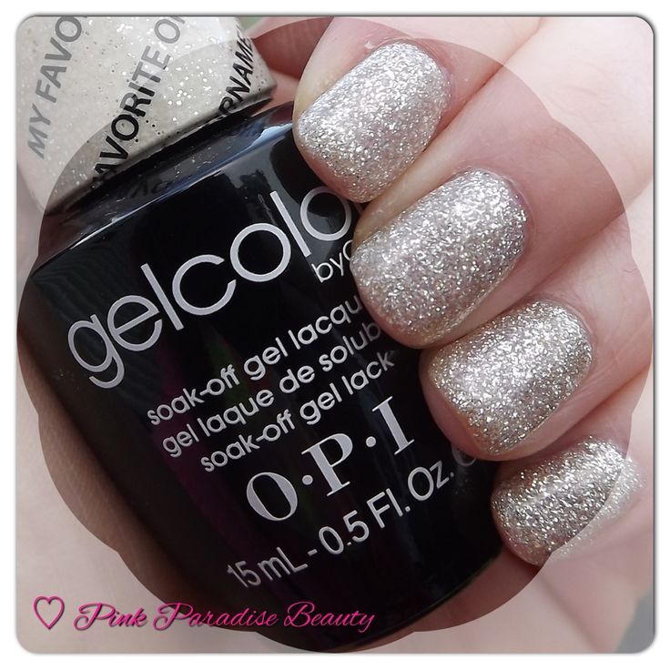 O.P.I GelColor in My Favourite Ornament from the Mariah Careh Holiday Collection