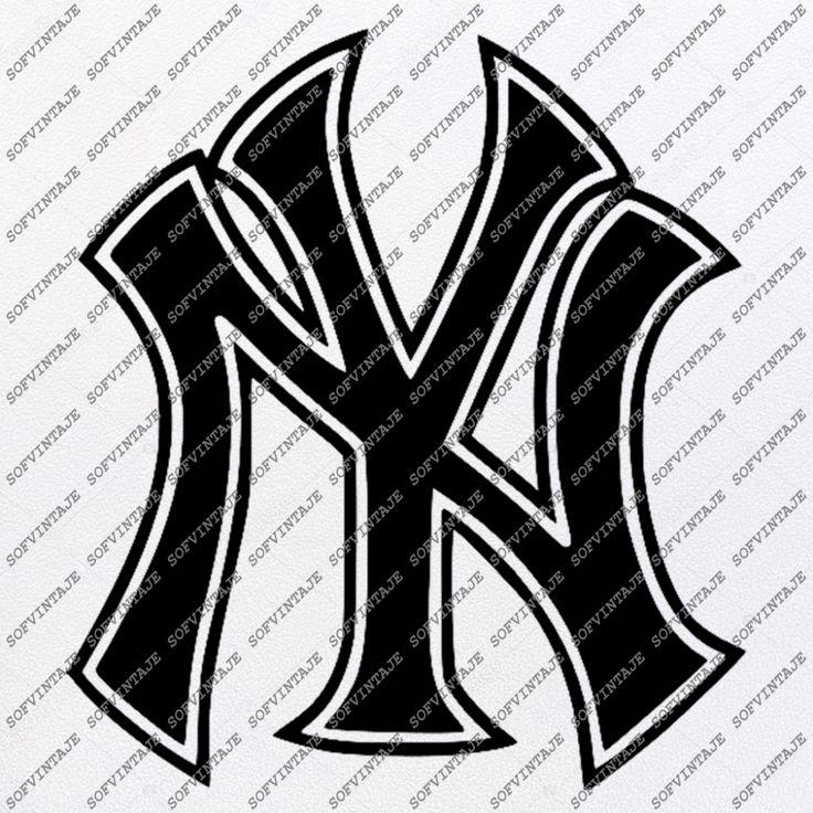 Yankees Baseball Svg File Baseball Svg New York