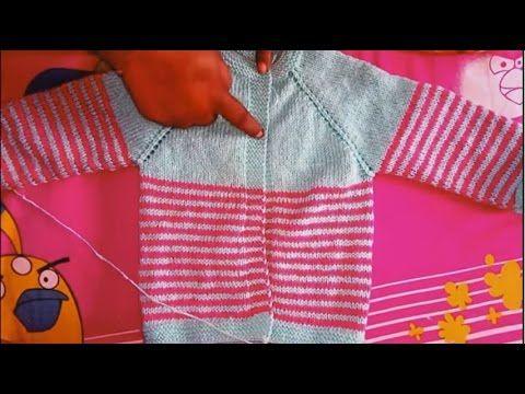Easy baby sweater design part 1| आसान  बेबी स्वेटर part 1