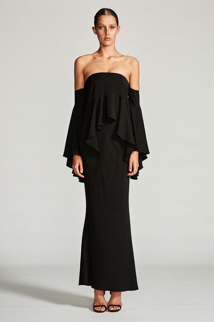 Shona Joy - Layered Frill Maxi Dress - Cassiopea