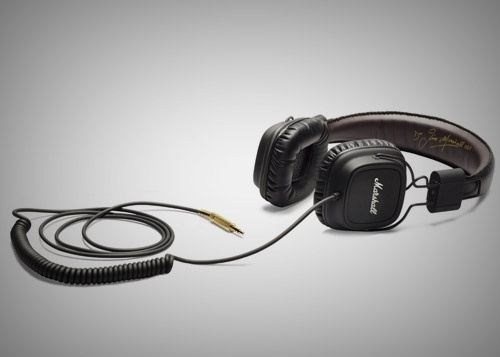 Marshall headphones.