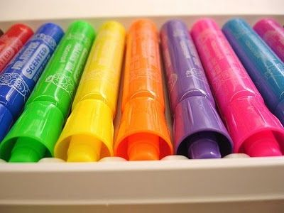 smelly markers!