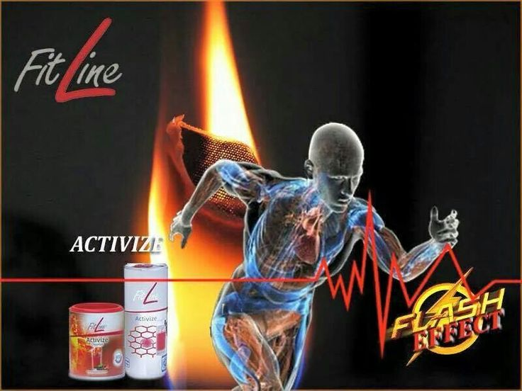 Energy with Activize! Order on http://fitline.activefood.ch