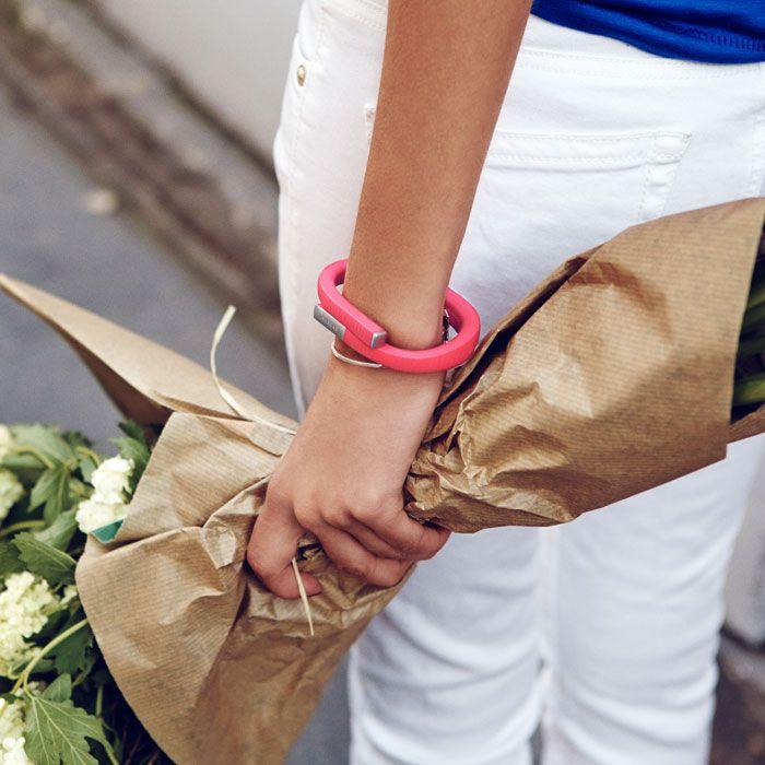 Jawbone Up24 - looks just like a bangle bracelet!