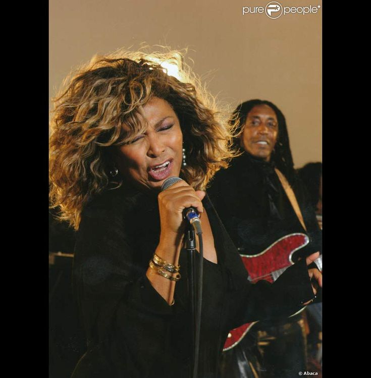 Tina Turner and her son Ronnie