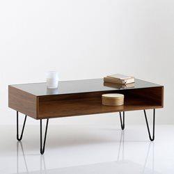 Table basse plateau en verre, Watford La Redoute Interieurs - Table basse