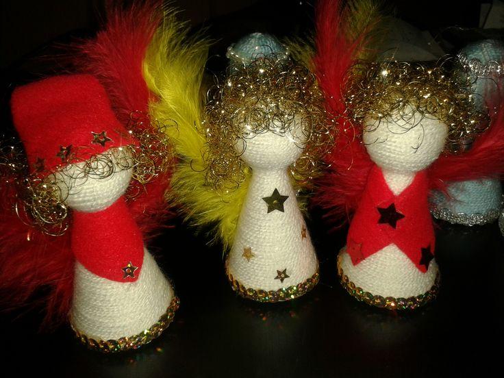 anjelik -  do školy na vianočné trhy