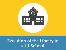 How can librarians leverage 1:1 programs as a way to advocate their role in the school and stay involved with student learning?   Kara will discuss challenges faced during the district's pilot year, how she overcame them, and provide you with advice and best practices for embracing the evolution of the library in a 1:1 school.