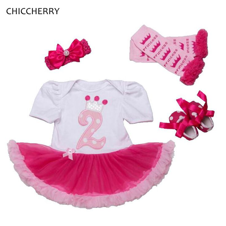 >> Click to Buy << 2 Years Toddler Birthday Outfits Lace Romper Dress Headband Crib Shoes Leg Warmers Girls Birthday Tutu Sets Vetement Bebe Fille #Affiliate