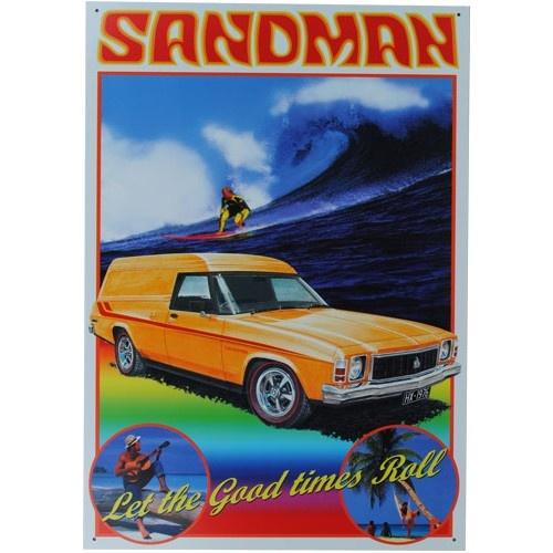 HX Sandman Holden Panel Van Tin Sign from Sarah J Home Decor. $32.95