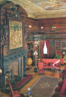 588 best north carolina asheville images on pinterest asheville the library at biltmore estate in asheville north carolina us the library contains over volumes and has two tiers the mural on the ceiling is the malvernweather Images