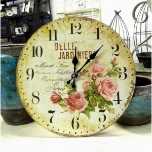 Zegar prowansalski Belle Jardiniere, 36zł