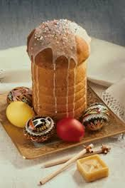 Image result for kulich russian easter bread