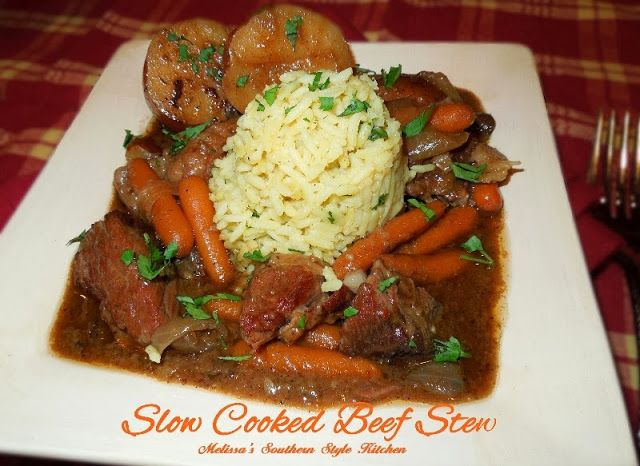 Melissa's Southern Style Kitchen: Slow Cooked Beef Stew