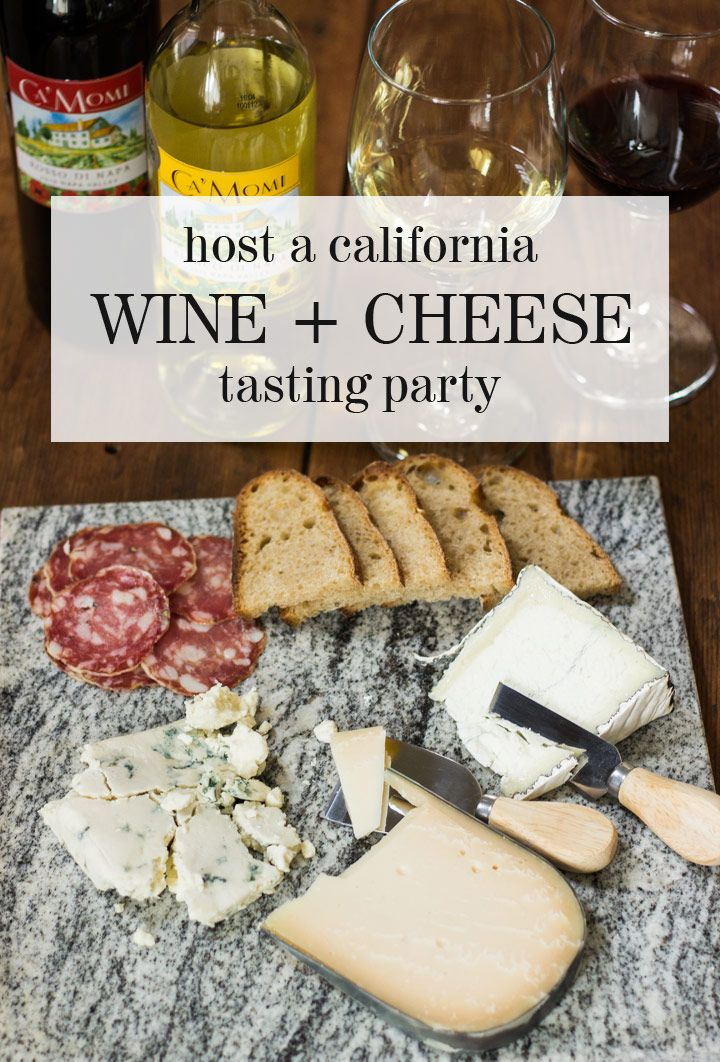 How to Host a California-Themed Wine & Cheese Tasting Party (plus win a California Wine Club Giveaway)