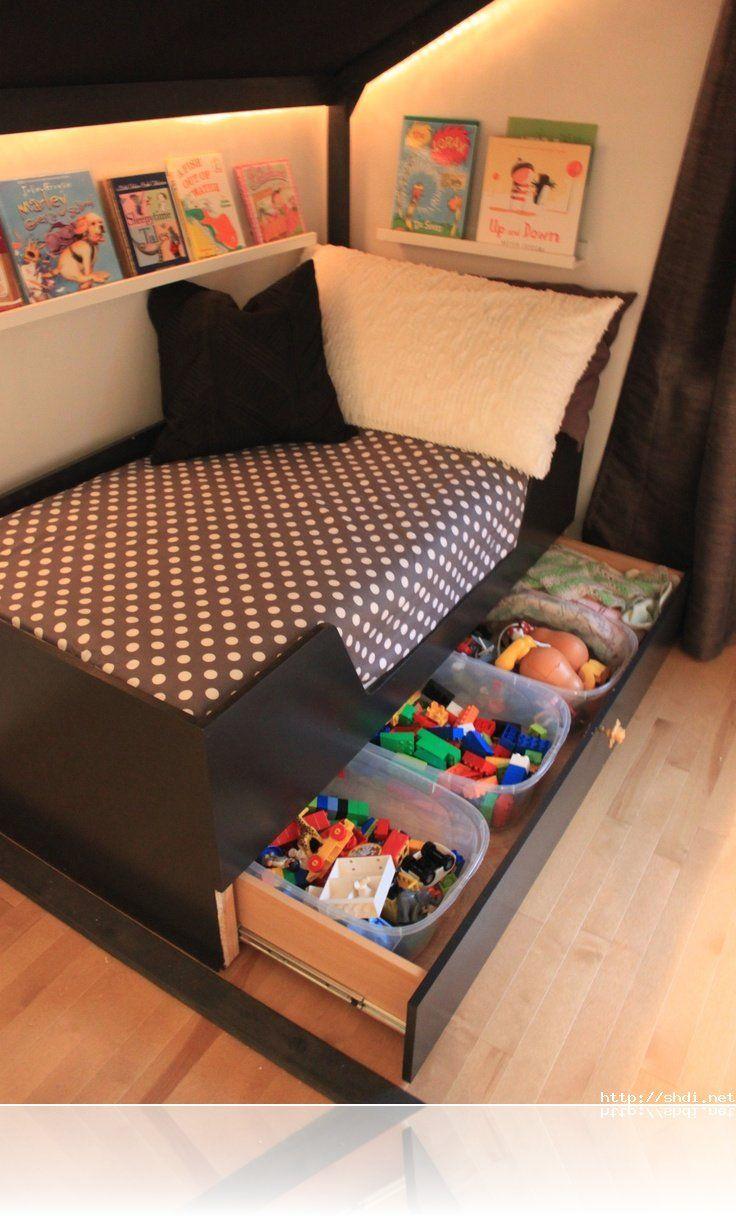 Cool Under Bed Storage Ideas 935 best