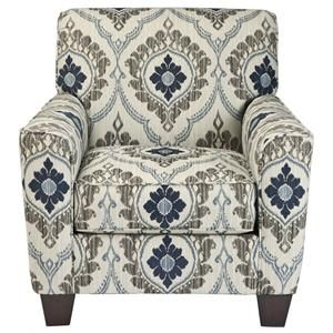 Signature Design by Ashley Furniture Carlino Mile - Mineral Accent Chair - 9690121