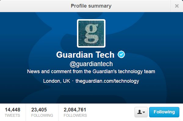 Top 10 People To Follow On Twitter For Technology News and Updates @Guardian Technologies