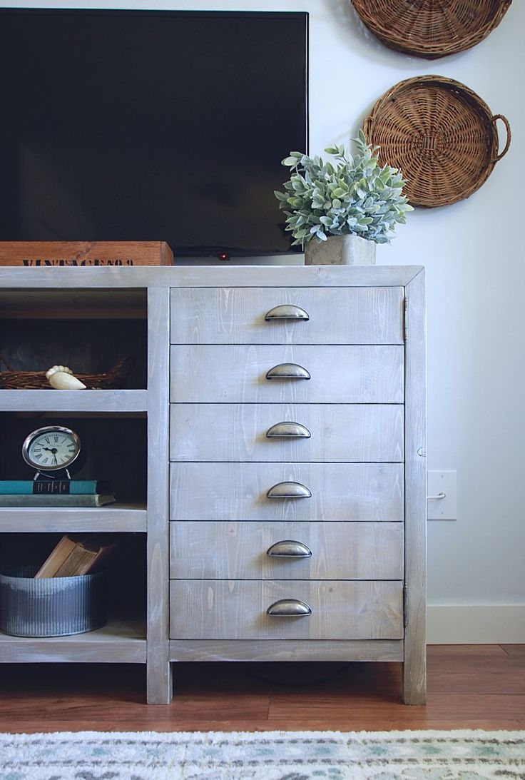 25 best rustic tv stands ideas on pinterest tv stand. Black Bedroom Furniture Sets. Home Design Ideas