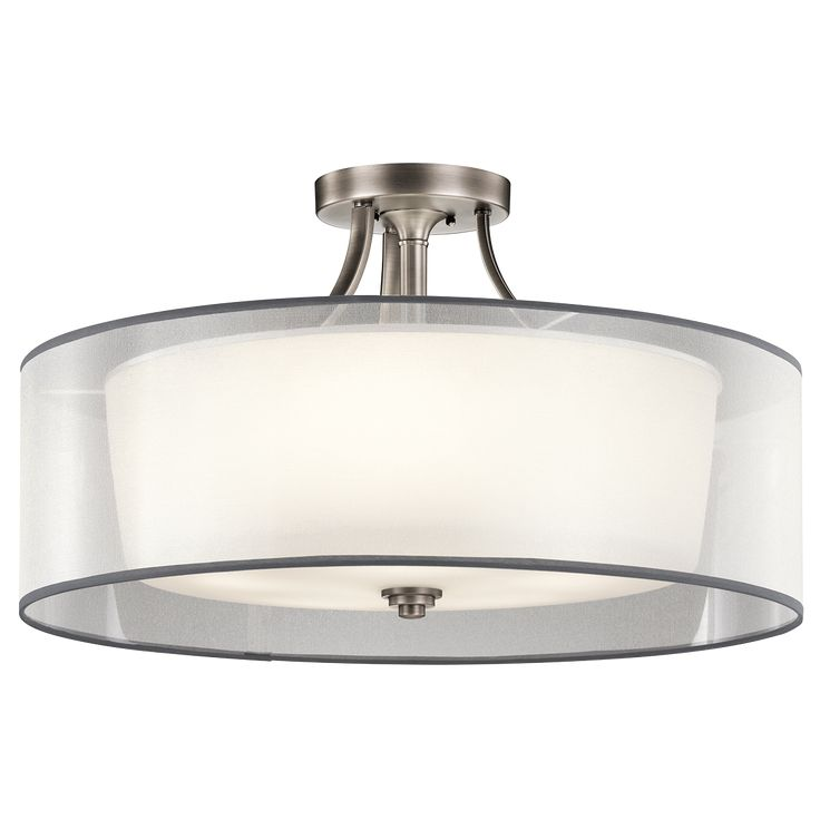 Lacey 5 Light Semi Flush Ceiling Light - AP