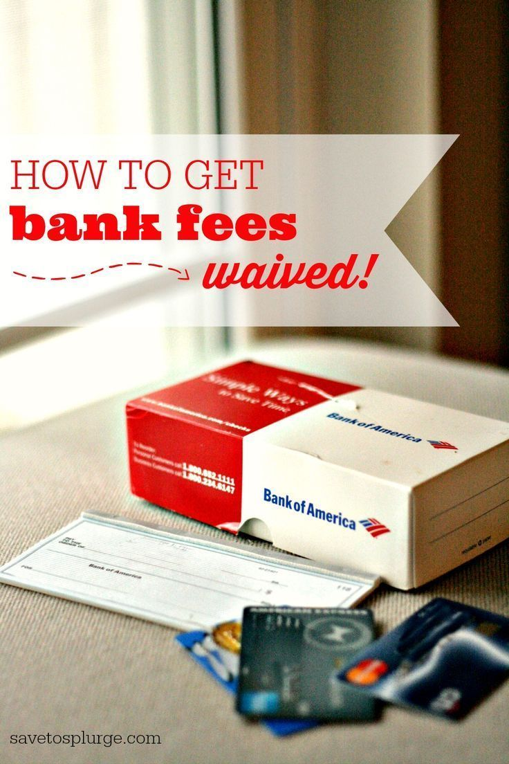 Bank fees and other charges can often be waived by simply asking. See my tips on how to get bank fees waived and what other charges I've gotten refunded!