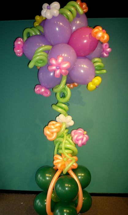 270 Best Decorate With Balloons Images On Pinterest