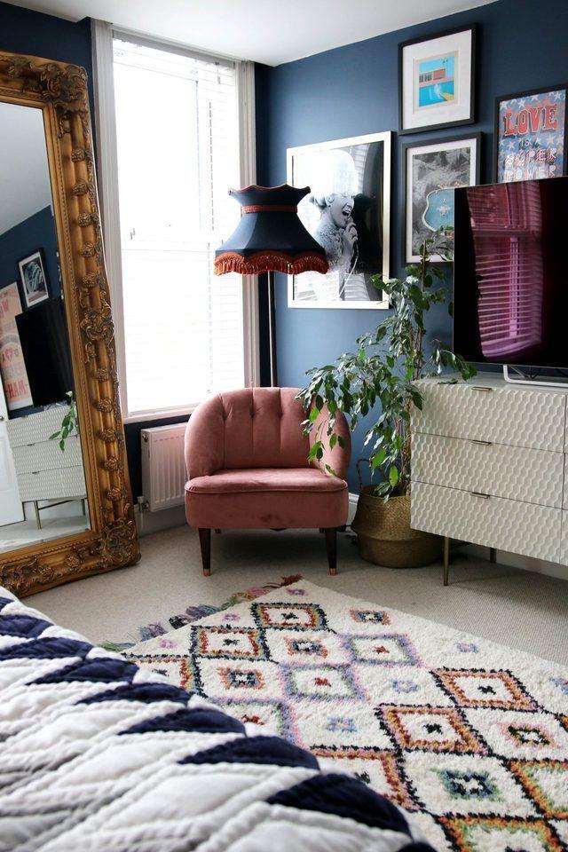 Boho Bedroom Ideas Blue