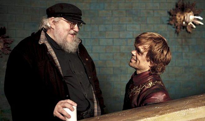 George RR Martin et Tyrion
