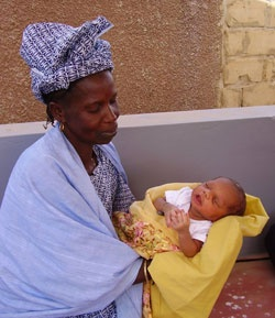 A birth center in Senegal, Africa that hosts teams of midwives 2x a year to help the staff better serve the women who birth there