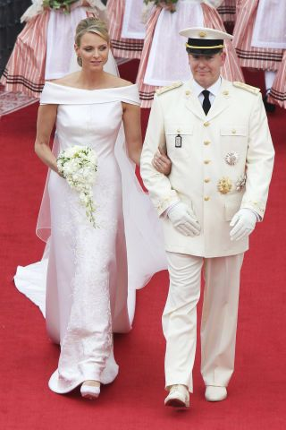 The 22 best royal wedding gowns of all time to inspire your own bridal look: Princess Charlene of Monaco