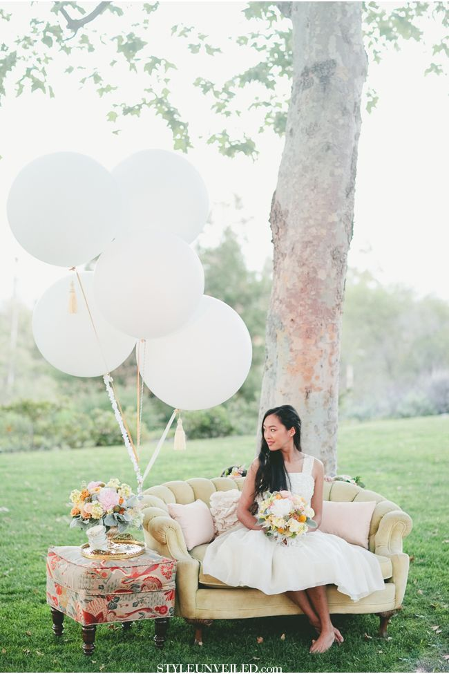 BHLDN Flower Girl Dresses / onelove photography / Tea Party Tablescape / Flower Girl Dress Ideas / At Your Door Events / via StyleUnveiled.com