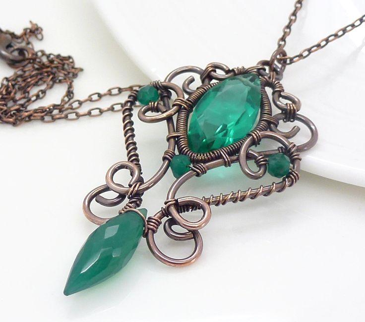 Pinterest Woman Emerald: Best 25+ Green Necklace Ideas On Pinterest