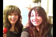 We filmed a Christmas Video for the Stirlingites  Dec 2012  #LindseyStirling