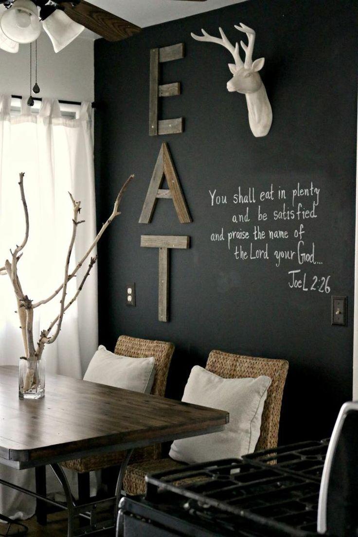 die besten 25+ wandgestaltung küche ideen auf pinterest - Essecke Wandgestaltung