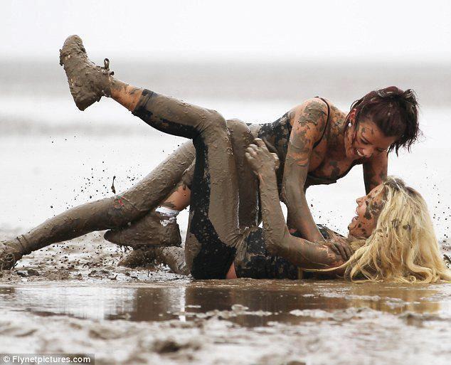 Mud girls   Flickr - Photo Sharing!