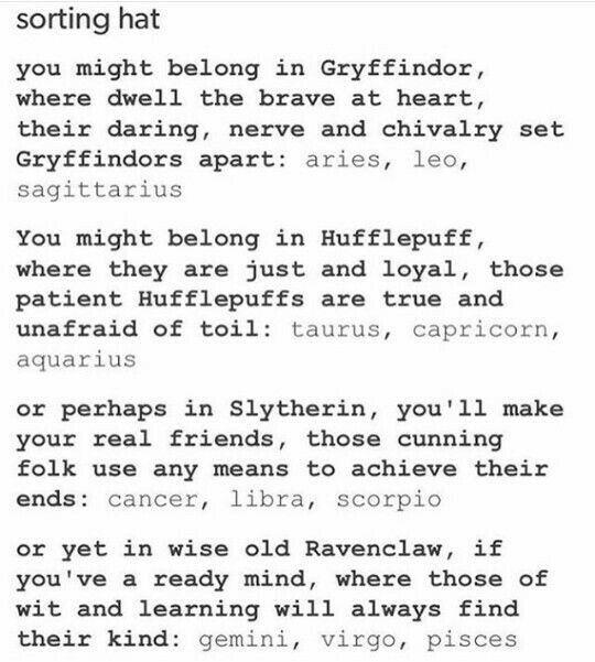 I have a Gryffindor sticker on my truck window
