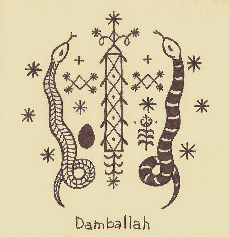 Damballah Veve | Vodou | Pinterest | Tattoo flash and Doodles