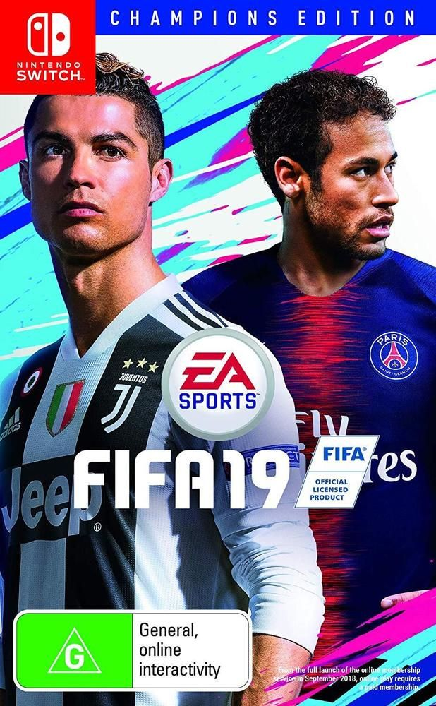 Fifa 19 Champions Edition Soccer Footy Football Sports Game For Nintendo Switch Ea Nintendo Switch Fifa Nintendo