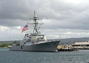USS Paul Hamilton (DDG-60) Arleigh Burke-class guided missile destroyer named for Paul Hamilton, U.S. Secretary of the Navy.