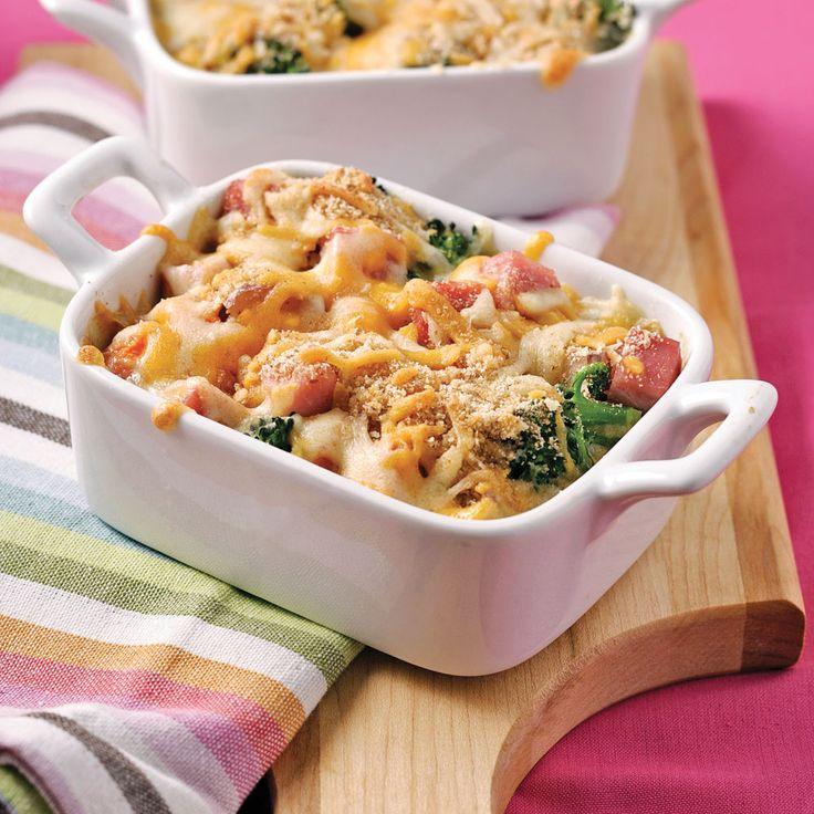 Gratin de légumes et jambon - Soupers de semaine - Recettes 5-15 - Recettes express 5/15 - Pratico Pratique