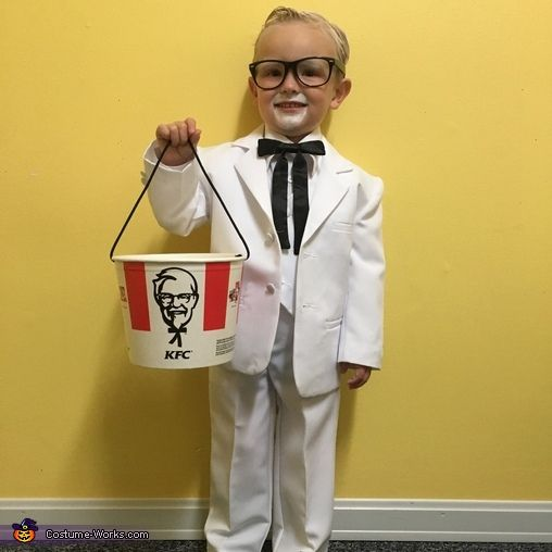 colonel sanders costume - Kids Halloween Costumes Pinterest