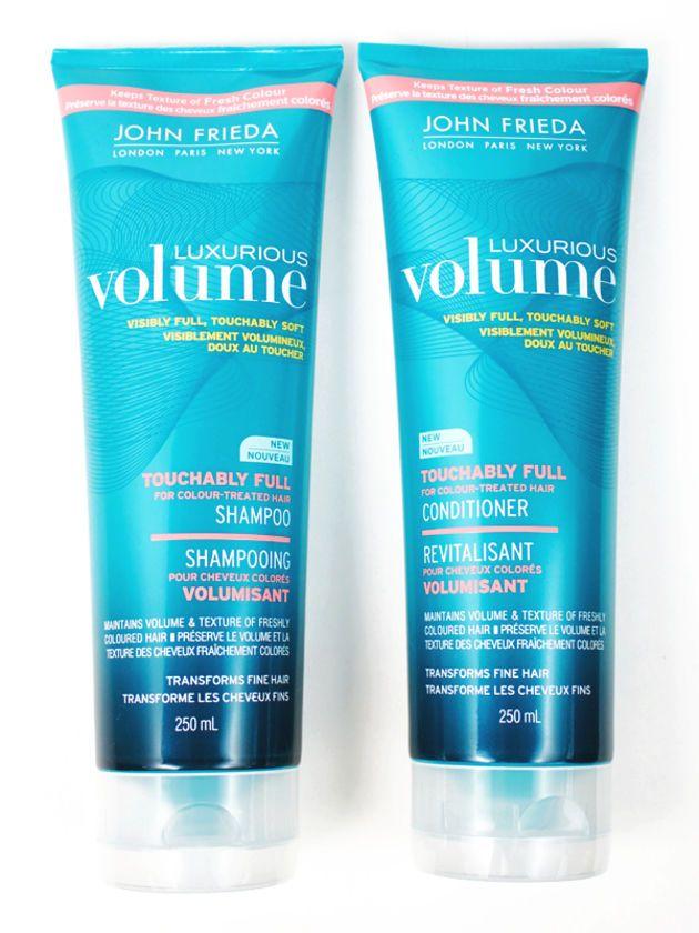 John Frieda Luxurious Volume Touchably Full Shampoo and Conditioner: http://beautyeditor.ca/2014/09/16/best-volume-shampoo