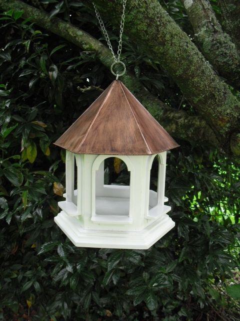 MUM: 'Rozel' Hanging Wooden Garden Wild Bird Table / Feeder *Great Gift Idea* in Garden & Patio, Garden Ornaments, Bird Baths, Feeders & Tables | eBay - £21.99 - OPTION