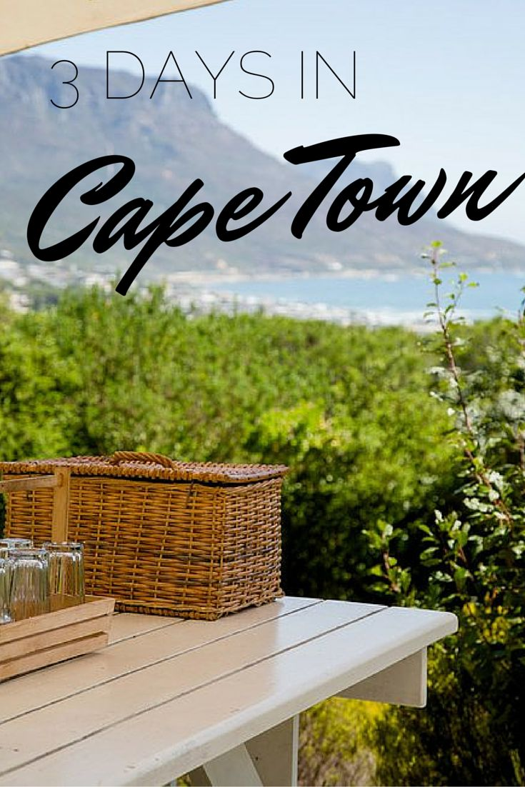 3 Days in Cape Town