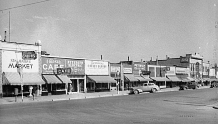 What Every Small Town In Utah Had In The 1930s It Was A Simpler Time Small Towns Utah Brigham City Utah
