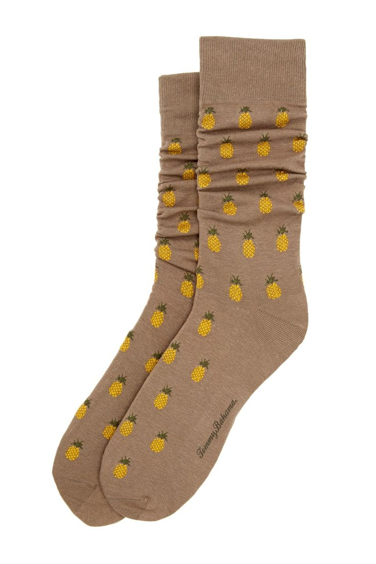 Allover Pineapple Sock by Tommy Bahama on @nordstrom_rack