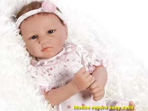 Lifelike & Realistic Newborn Baby Doll by Paradise Galleries