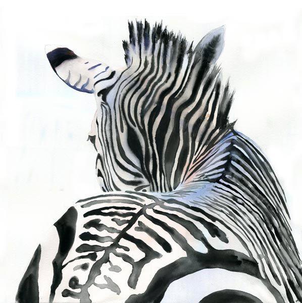 25+ best ideas about Zebra painting on Pinterest | Zebra ...