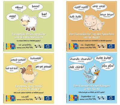 Europa im DaF-Unterricht : E-Cards zum Europäischen Tag der Sprachen