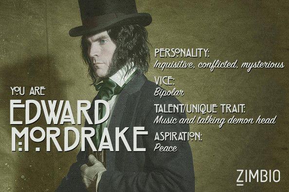 I took Zimbio's 'AHS: Freak Show' quiz and I'm Edward Mordrake. Who are you?